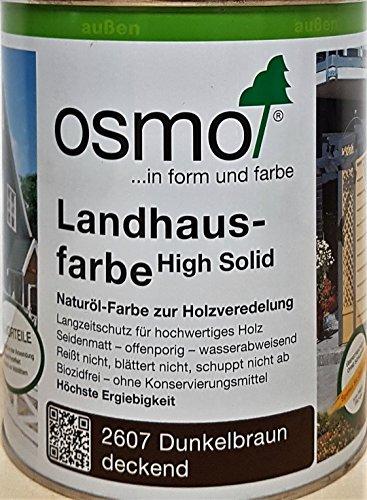 OSMO Landhausfarbe High Solid 750ml Dunkelbraun 2607