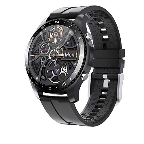 LIGE Reloj Inteligente,Smartwatch IP67 Impermeable Podómetro/Presión Arterial/Monitores Sueño Hombre Deportivo Reloj para Teléfonos Android iOS