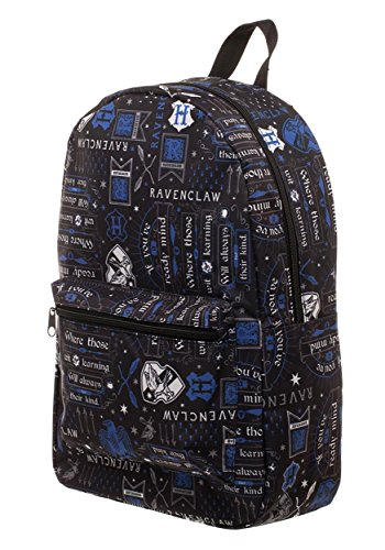 Harry Potter Ravenclaw House Crest Icon Hogwarts Backpack Bag Laptop