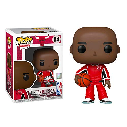 KYYT Funko NBA: Chicago Bulls #56 Michael Jordan Rookie Uniform Pop! Chibi