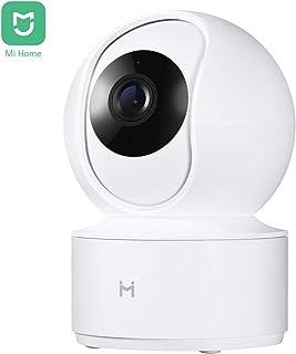 IMI Mi Home Camara Vigilancia 1080pDome CámaraDetección de MovimientoXiaomi Camara IP de visión Nocturna con App para iOSAndroid y Windows PC (Blanco)