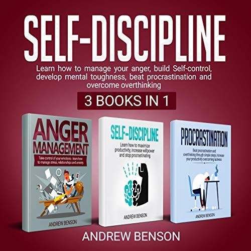 Self-Discipline: 3 books in 1 cover art