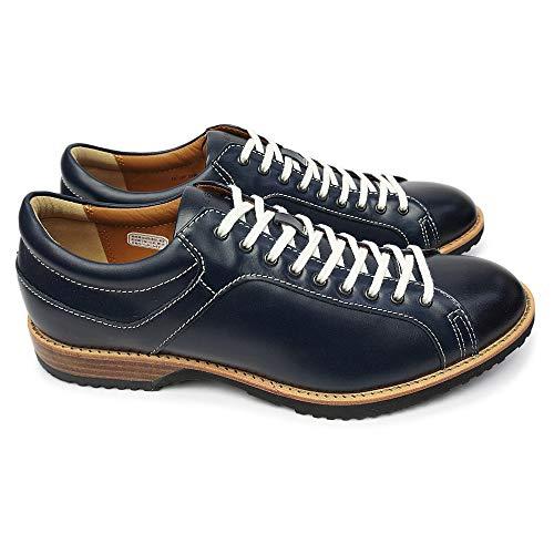 [リーガル] 靴 57RR カジュアルシューズ メンズ レザー レースアップ ネイビー 24.0cm