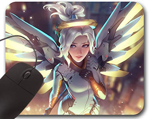 Mercy Mousepad - Overwatch Blizzard