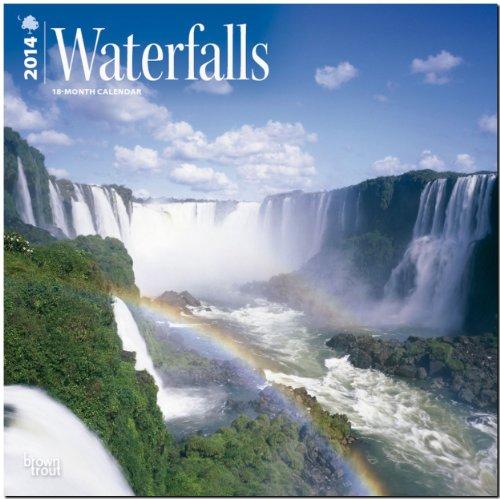 Waterfalls 2014 - Wasserfälle: Original BrownTrout-Kalender [Mehrsprachig] [Kalender]