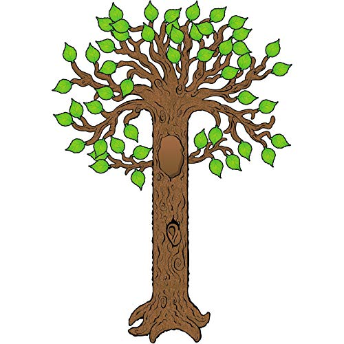 Carson Dellosa – Big Tree Bulletin Board Set, Classroom Décor, 64 Pieces