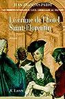 Le crime de l'hôtel Saint-Florentin par Parot