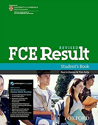 FCE Result Student Book and Online Skills Practice Pack by Not Available(2011-04-14)