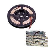DIY LED U-Home LED tira de luz CRI RA 80+/90+/95+/97+ SMD5630 16.4Ft (5M) 300LEDs luz diurna blanca 5600K 60LEDs/M DC12V 10mm PCB blanco tira de cinta flexible (CRI (RA 97+))