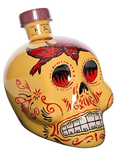 Kah - Tequila Reposado, 700 ml, la botella puede variar
