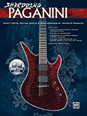 Shredding Paganini - Book & CD As the follow-up to his best-selling book Shredding Bach, master shredder German Schauss covers yet another all-time great musician Niccolo Paganini, whose lifestyle and fame were similar to that of a modern rockstar, w...
