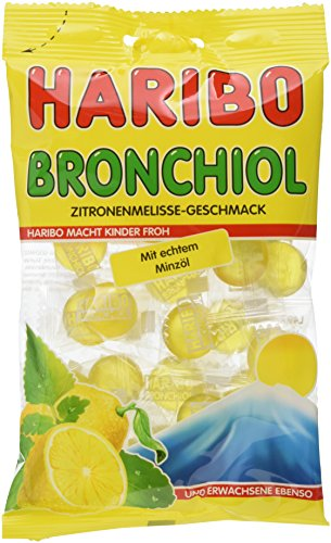 HARIBO Bronchiol Zitrone, 10er Pack (10 x 100 g)