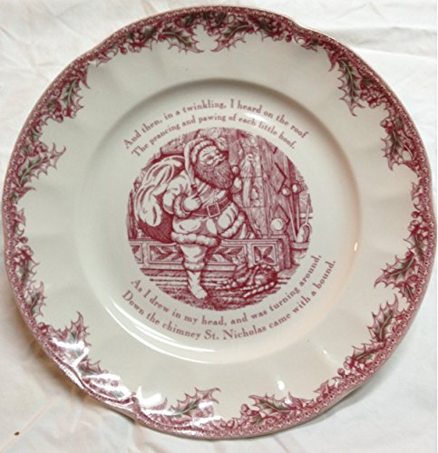 Johnson Brothers Twas The Night 12' Round Serving Plate