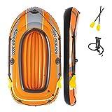BESTWAY - Barca Hinchable Kondor 3000 232x115 cm 2 Adultos y 1 Niño