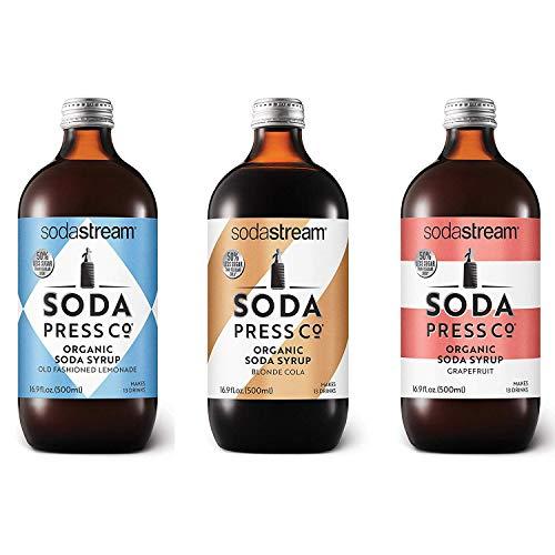 SodaStream Soda Press Classic Variety Pack, 16.9 Fl Oz, Pack of 3