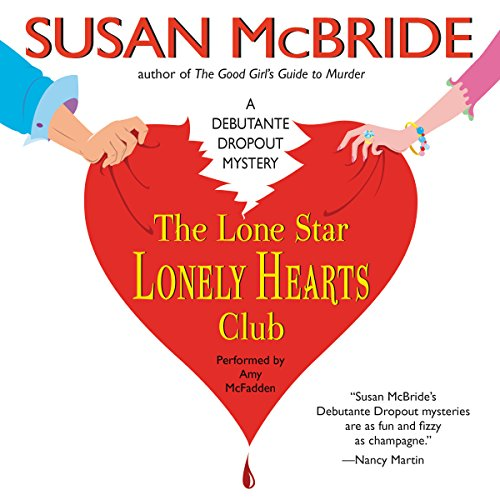The Lone Star Lonely Hearts Club audiobook cover art