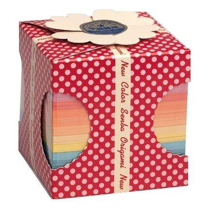 Origami-Papier - Origami-Papier Set - Senbazuru (1000 Kraniche) - 15 Pastellfarben sortiert - 1005 Blatt - 7cm x 7cm