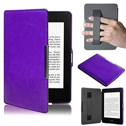 TREESTAR - Funda protectora para Kindle Paperwhite y iPad ligera y delgada (se adapta a todas las versiones de 2012, 2013, 2015 y 2016), Morado, ≤ 184 * 123 * 8mm