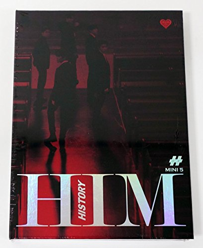 Loen Entertainment History - Him (5Th Mini Album) [Heart Ver.] Cd+Photobook+Photocard