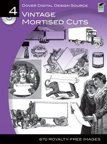 Dover Digital Design Source #4: Vintage Mortised Cuts (Dover Electronic Clip Art)