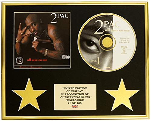 Everythingcollectible 2PAC /CD-Darstellung/Limitierte Edition/COA/All Eyez ON ME