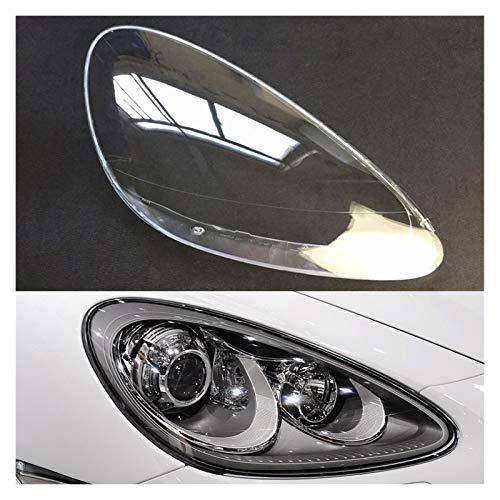 LCZ Lcbiao®. Auto-Scheinwerfer-Objektiv für Porsche Cayenne 2011 2012 2012 2013 2014 Scheinwerferabdeckung Ersatz Auto Shell (Color : Passenger Side)