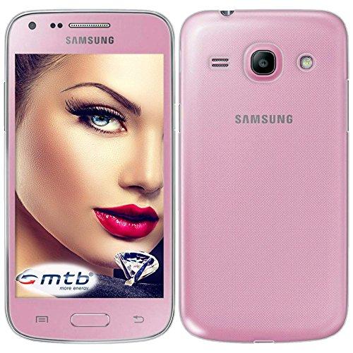 mtb more energy® Schutz-Hülle Clear & Slim für Samsung Galaxy Core Plus (SM-G350, 4.3'')   transparent   flexibel   TPU Case Schutz Hülle Tasche