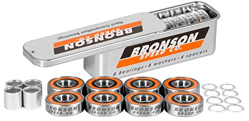 Bronson Speed Co Speed Co Skateboard-Kugellager, Unisex, Erwachsene, Mehrfarbig
