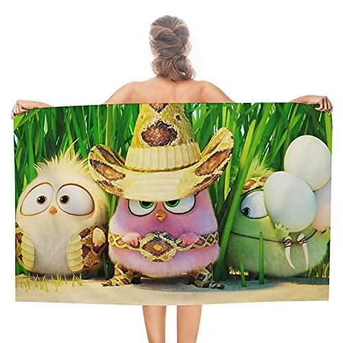 Cowboys Birds Angry Birds Toallas de baño de cocina suave de doble cara, toalla de viaje para piscina, baño, spa, fitness, natación, mascotas, camping, decoración al aire libre del hogar