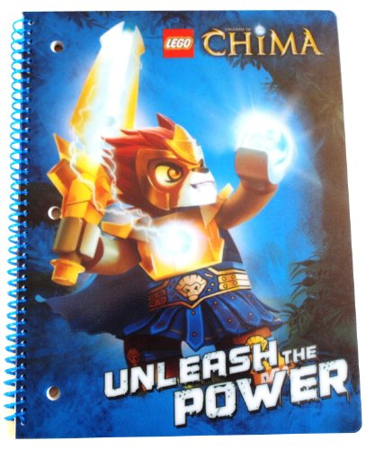 Lego Legends of Chima Wide Ruled Notebook (Colors/Graphics Vary)