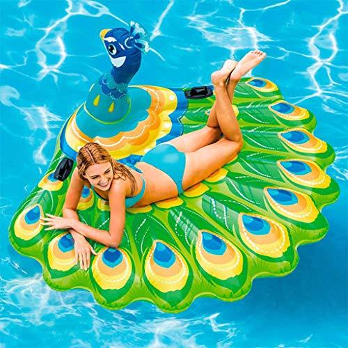 JSS Wasser Schwimmendes Bett Schwimmende Reihe, Tragbare Erwachsene Kinder Wasser Hängematte Wasserbett Wasser Luftbett Luftbett Liege Klapp Sommer Outdoor Schwimmbad Wassersofa