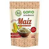 SOLNATURAL GOFIO DE MAIZ Integral Bio 400 g, Estándar, Único