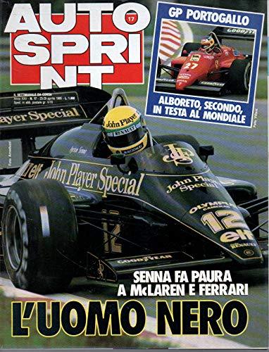 Autosprint 17 aprile 1985 Senna fa paura a McLaren e Ferrari