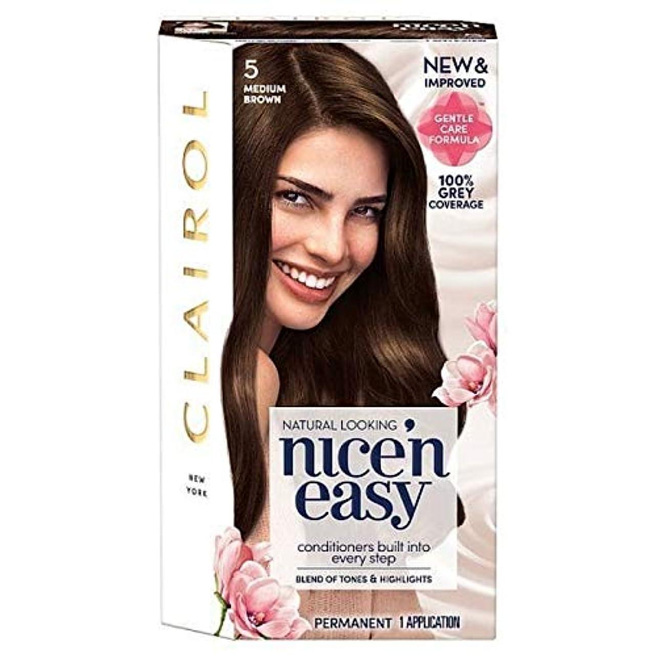 ゼリー想像力豊かな行動[Nice'n Easy] Nice'N簡単5ミディアムブラウン - Nice'n Easy 5 Medium Brown [並行輸入品]