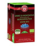 Teekanne (Pompadour 1913) Mezcla orgánica de hierbas y flores del Tirol del sur para infusión - 1 x 20 bolsitas de té (24 gramos)