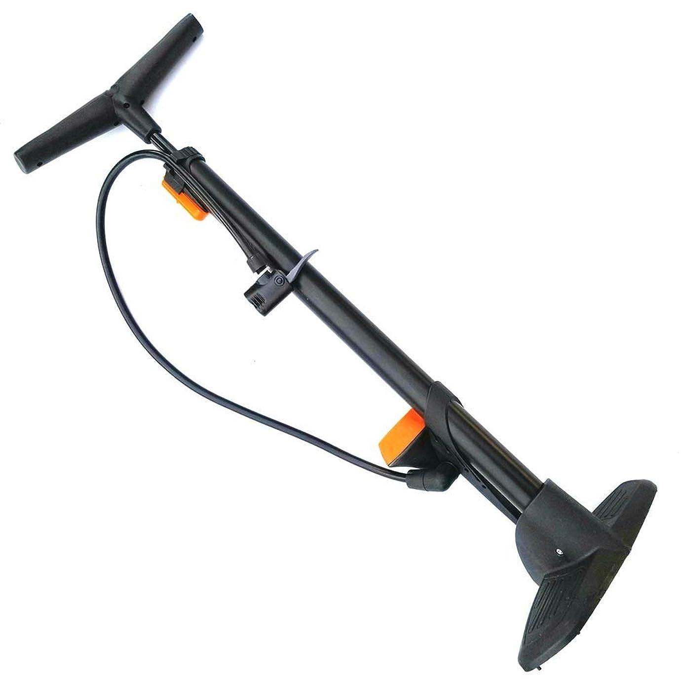 威信九月誘導ポータブル高圧自転車ポンプ 性能、ゲージ付き垂直エアーポンプハンドエアーポンプ、マウンテンバイク用、車、オートバイ、電気自動車、バスケットボール