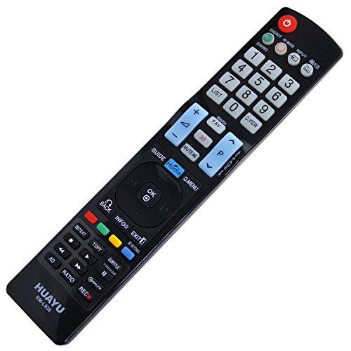 Mando a Distancia de Repuesto Adecuado para LG LED LCD TV AKB73275606 AKB 73275606 con Conexión PreProgramada Uno a Uno - Función de Arranque Fácil - sin Instalación Molesta
