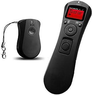 RGBS 2.4G 無線 シャッター 液晶LCD タイマー機能付き リモコン ワイヤレス リモートコントローラー キャノン Nikon ニコン D90 D600 D610 D3100 D3200 D3300 D5000 D5100 D5200 ...