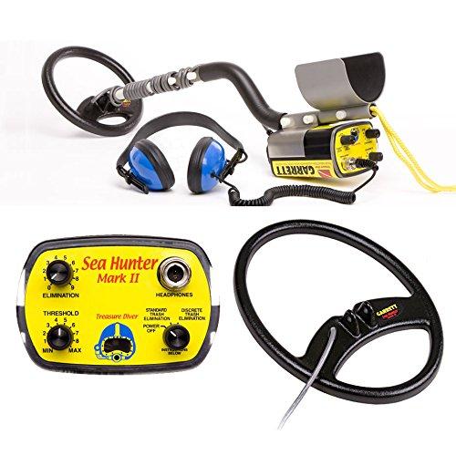Garrett Sea Hunter Mark II Underwater Metal Detector with 2...