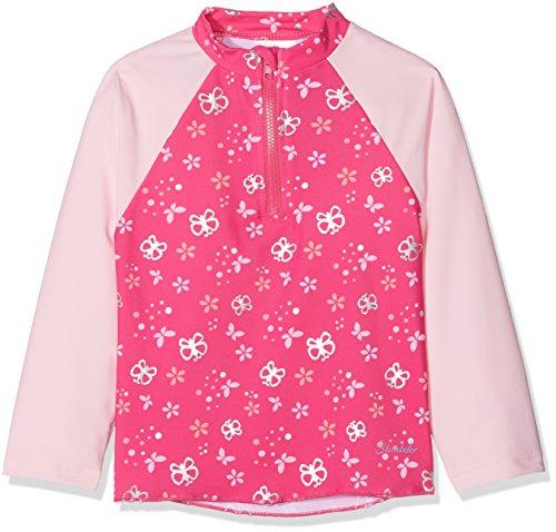 Sterntaler Kinder Mädchen Schwimmshirt, Langarm-Badeshirt, UV-Schutz 50+, Alter: 4-6 Jahre, Größe: 110/116, Pink/Rosa