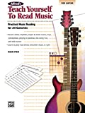Alfred's Teach Yourself to Read Music for Guitar: Practical Music Reading for All Guitarists! (Teach Yourself Series)