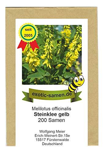 Gelber (echter) Steinklee - Melilotus officinalis - Zier- / Arzneipflanze - 200 Samen