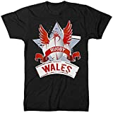 PENGDONG Wales Rugby Nations T Shirt 2019 Six 6 Welsh Supporters Man Woman Kid