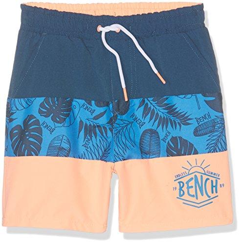 Bench Jungen Badeshorts Colour Blocked Swims Mehrfarbig (Dusky Blue Bl041) 140 (Herstellergröße: 9-10)