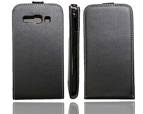 caseroxx Flip Cover für Alcatel One Touch POP C9 7047D, Tasche (Flip Cover in schwarz)