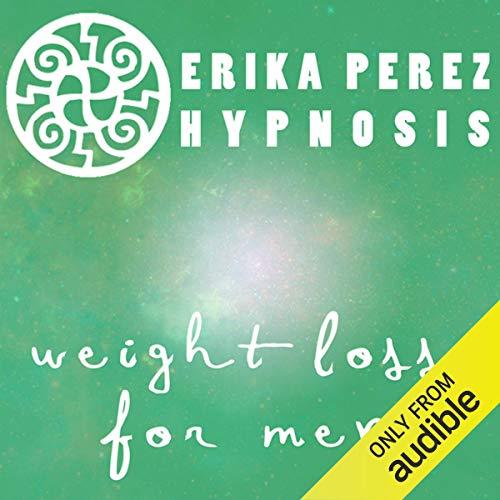 Diseño de la portada del título Perdida de Peso para Hombres Hipnosis