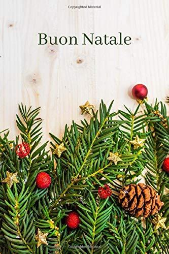 albero di natale justin Buon Natale: Notebook: Natale