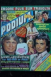 PODIUM HIT 82 DECEMBRE 1978 CLAUDE FRANCOIS LES BEE GEES SHEILA + POSTERS BONEY M SHEILA JOHN TRAVOLTA