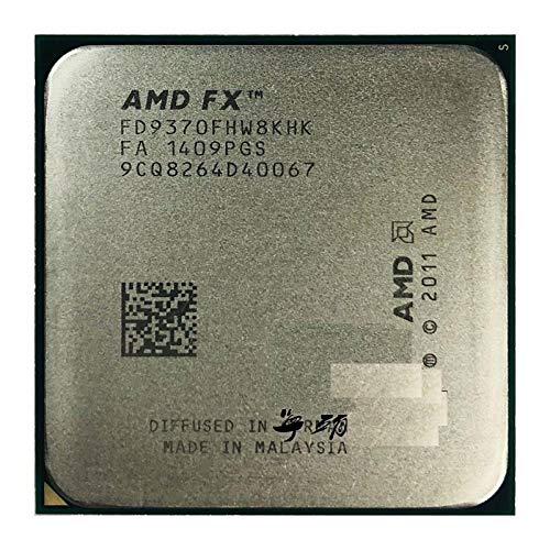 AMD FX-Series FX-9370 FX 9370 - Procesador de CPU (4,4 GHz, ocho núcleos, 220 W, FD9370FHW8KHK, zócalo AM3+