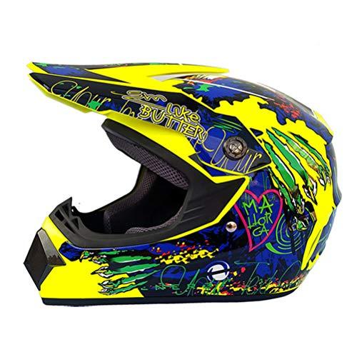 Motocross Helme Komfort Anti Crash Downhill Motorrad Motorradhelm Frauen Vollgesichts DOT